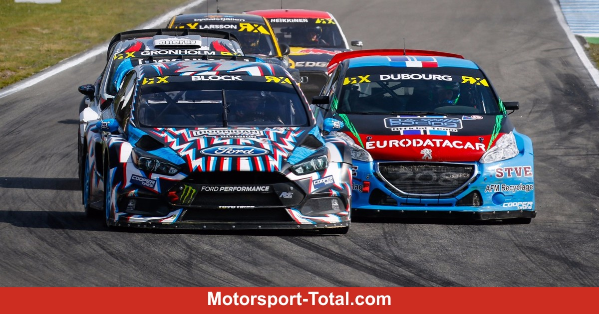 wrx hockenheim halbfinale und finale im livestream rallye bei motorsport. Black Bedroom Furniture Sets. Home Design Ideas