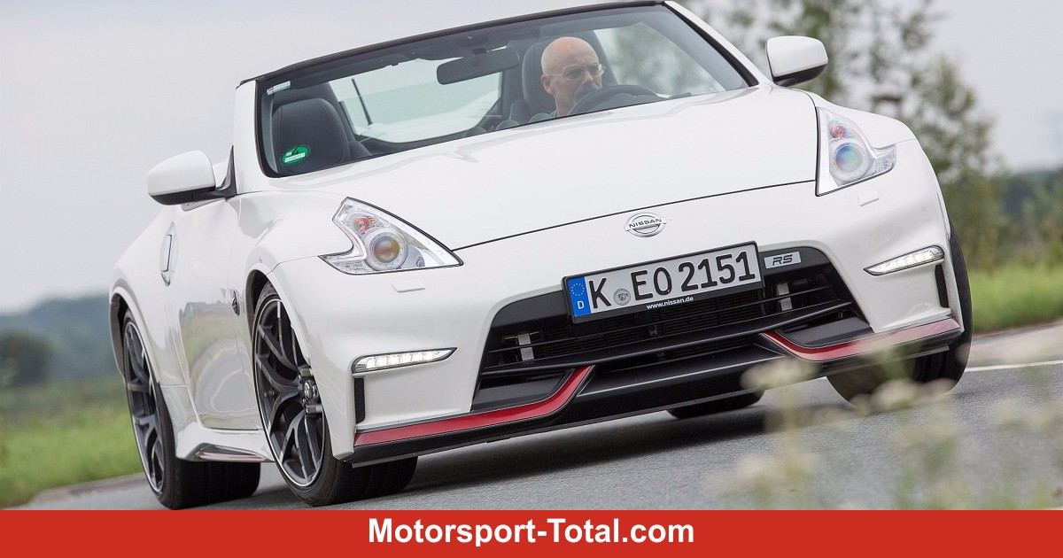 News Nissan 370z Roadster Quot Rs Quot Sondermodell Ab Sofort